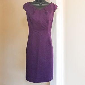 2/$15 MOSSIMO sz 4 eggplant career dress